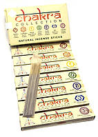 Chakra Collection (7 Чакр)(15 gms)(Mother nature products)(набор 7 пачек) пыльцовое благовоние