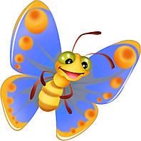 Термопечать на нижнее белье Бабочка [7 размеров в ассортименте]