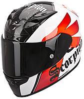 "ШЛЕМ Scorpion EXO-710 AIR KNIGHTwhite/red ""L"", арт. 71-179-59, фото 1"