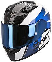 "Шлем Scorpion EXO-710 AIR KNIGHTwhite/blue ""M"", арт. 71-179-74"