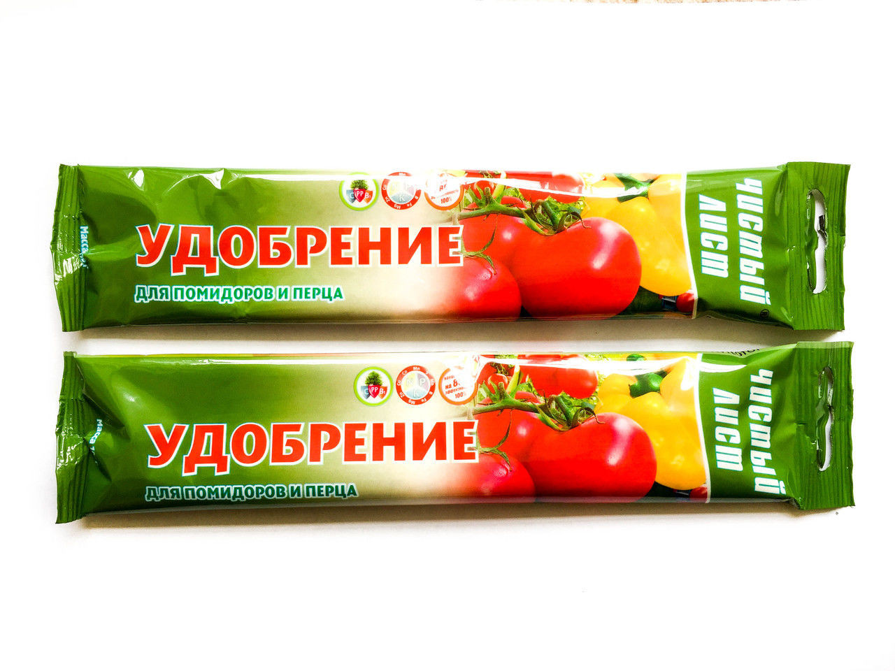 """Удобрение """"Чистый Лист"""" для помидоров и перца (100г)"""