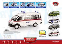 "RUS Автобус PLAY SMART 9689-D ""Автопарк"" МЧС инерц.муз.свет.кор.21,5*10,5*11,4 ш.к./36/"