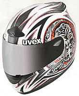 Uvex  Wing  RS  745  L  white-red-shiny