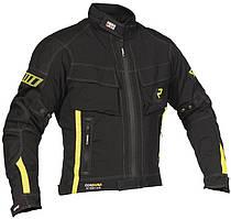 Мотокуртка RUKKA Basti черный белый желтый 58