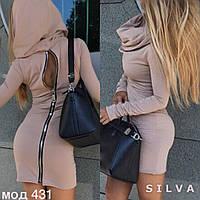Женское платье материал ангора