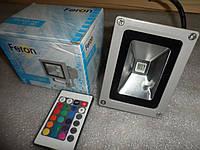Прожектор светодиодный LED RGB 10w LL-180 цветной