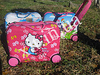 Детский чемодан-каталка Kitty