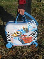 Детский чемодан-каталка Маккуин