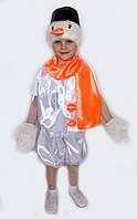Новогодний костюм Снеговик-2 на возраст от 3 до 6 лет