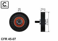 Натяжной ролик ремня генератора 1.4 (E7J780) —Caffaro (Польша) - CFR45-07