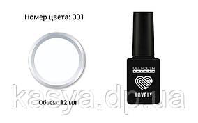 Гель-лак Lovely №001, 12 ml