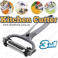 "Овощечистка - ""Kitchen Cutter"" - 3 в 1."