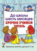 До школы шесть месяцев:срочно учимся читать. Планирование и конспекты занятий с детьми 5-7 лет.