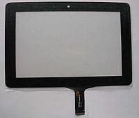 Оригинальный тачскрин / сенсор (сенсорное стекло) Ergo Tab Venus (черный C182123A1-FPC659DR-06 самолкейка)
