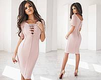 Женское платье материал плотный замш