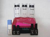 Стартовый набор гель-лаков KODI (10 предметов)