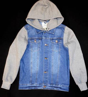 Джинсовая куртка  158