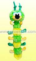 Мягкая игрушка Гусеница, 50см