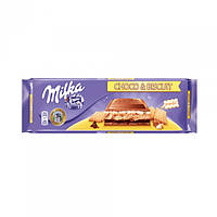 Молочный шоколад Milka Choco & Biscuit  300 гр