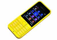 Мобильный телефон Nokia 220 (2 SIM) 1,3 Мп yellow желтый FM, MP3! ЯРКИЙ и СТИЛЬНЫЙ! Гарантия!