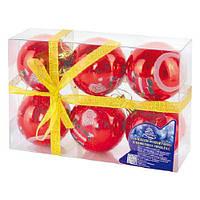 Набор ёлочных шариков A02290