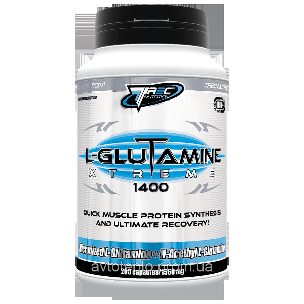 Аминокислота L-Glutamine extreme 200 капсул