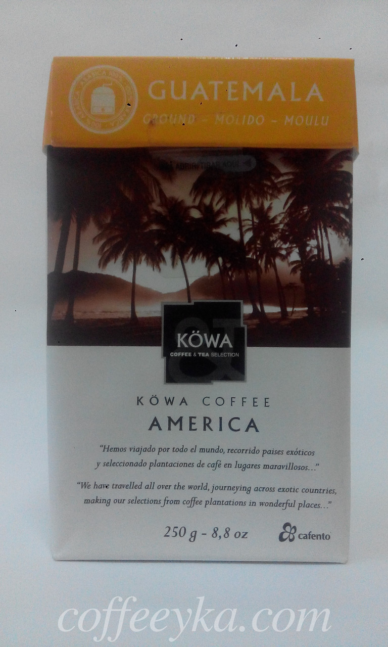 Кофе молотый Kowa Guatemala 250 г.