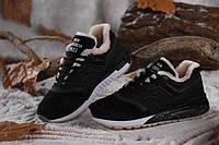 Зимние кроссовки New Balance 997,5  Suede Black White, фото 1