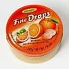 Леденцы Fine Drops (Дропс) Апельсиновые 200 г. Австрия