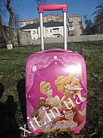 "Детский чемодан 18"" на 4 колесах Princess"