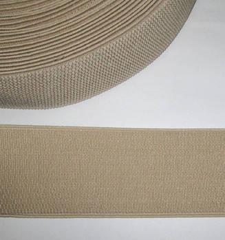 Резинка - пояс 6 см, бежевая