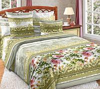 Полуторное постельное белье Адель, перкаль 100% хлопок