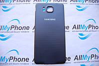 Задняя панель корпуса  Samsung G850F Galaxy Alpha Black