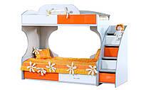 Кровать двухъярусная Пионер МДФ