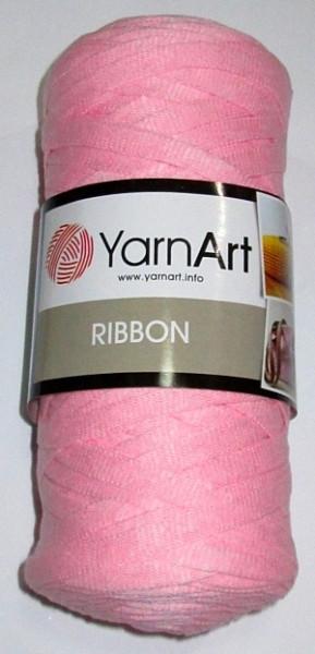 Пряжа стрічкова 250 гр, рожева