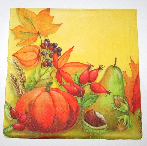 Салфетка для декупажа Осень