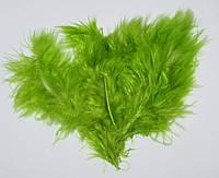 Перья 6-10 см салатовые