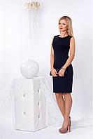 Женское платье 955 (темно-синий)