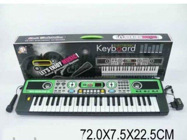 Детский Синтезатор MQ-823USB, 49 клавиши, 72х7,5х22,5 см