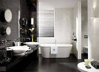 Черно-белая ванная комната: секреты дизайна ванной комнаты в черно-белых тонах