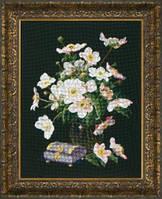 Набор для вышивки крестиком М-225 Перламутровый натюрморт