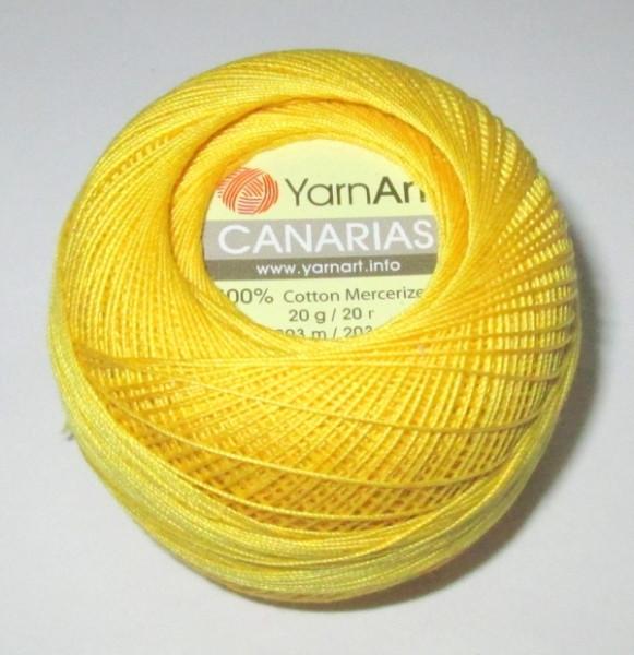 Нитки канариас желтые