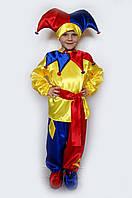 Карнавальный костюм Арлекин (Петрушка-1) на возраст от 3 до 6 лет