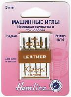 Иглы для бытовых швейных машин кожа №90/14