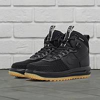 Утепленные кроссовки Nike Lunar Force 1 Duckboot Black