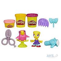 """Игра Hasbro Play-Doh Town """"Житель и питомец"""" Снипс и попугай (B3411) (B5973)"""