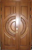Металлические двери двустворчатые