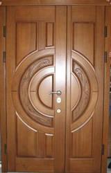 Металеві двері двостулкові