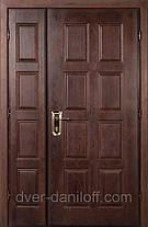 Металлические двери двустворчатые, фото 3
