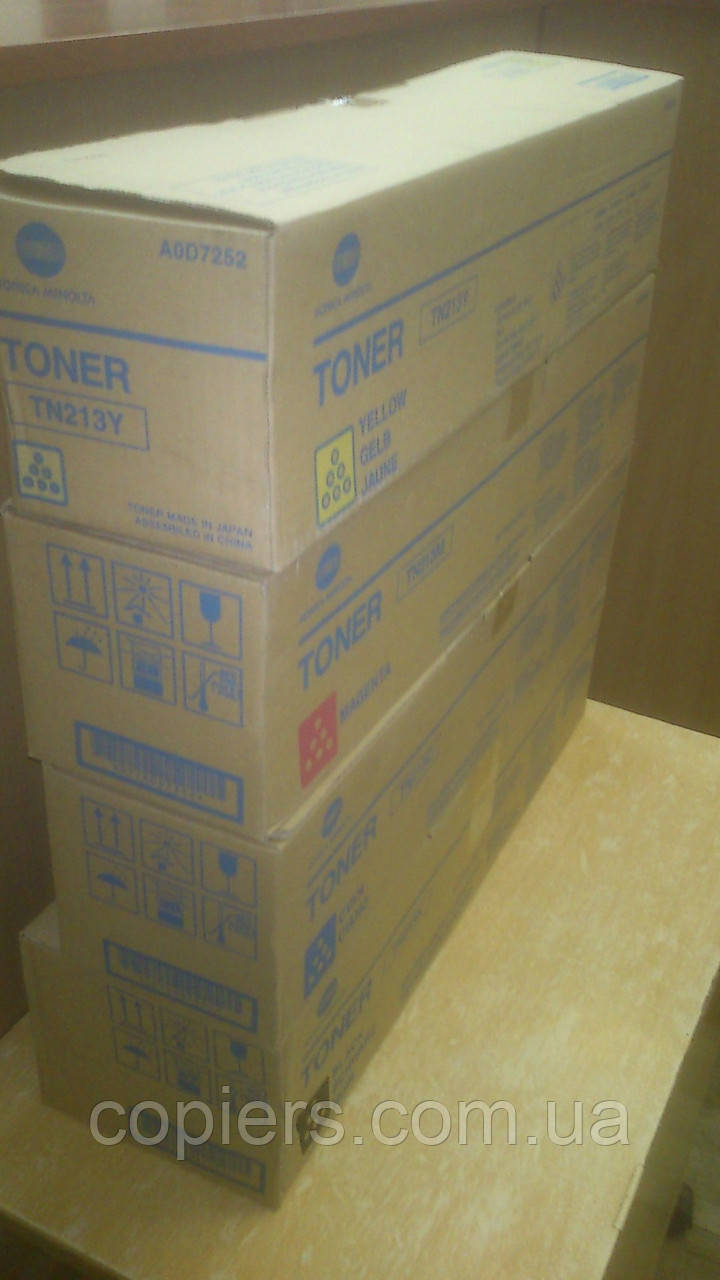 Тонер картридж TN213 C  Konica Minolta bizhub C253/C203 оригинал